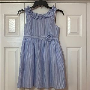 NWOT Lilly Pulitzer stripped blue sun dress